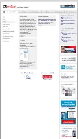 Vorschau der mobilen Webseite www.itrb.de, IT-Rechtsberater ehemals ComputerrechtIntern.