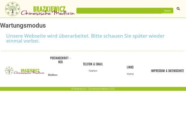 Vorschau von www.die-chinesische-medizin.com, Arztpraxis für Traditionelle Chinesische Medizin, Frank Brazkiewicz