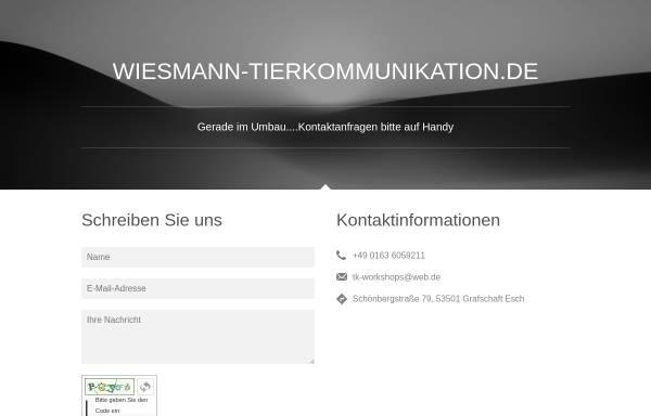 Vorschau von www.tierkommunikator.com, Tierkommunikation Petra Wiesmann
