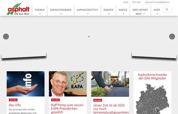 Vorschau von www.asphalt.de, Deutsches Asphaltinstitut e.V.