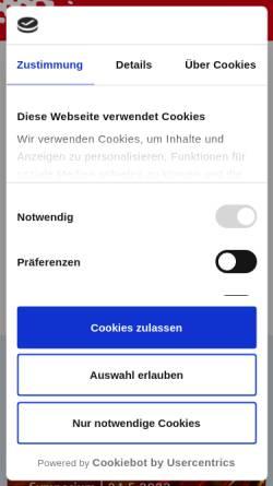Vorschau der mobilen Webseite www.fogra.org, Forschungsgesellschaft Druck e.V.