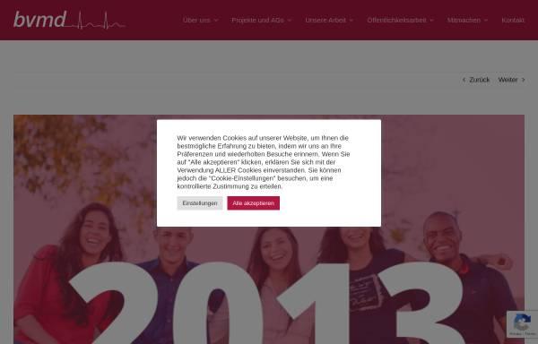 Vorschau von bvmd.de, Deutscher Famulantenaustausch