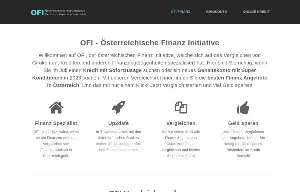 Vorschau von www.ofi.co.at, Technologie & Innovation GmbH Österreichisches Forschungsinstitut für Chemie und Technik