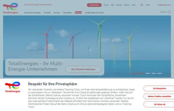Vorschau von www.total.de, Total Deutschland GmbH