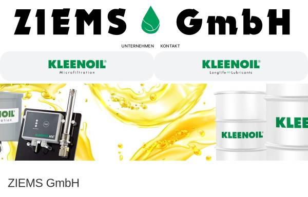 Vorschau von www.ziemsgmbh.de, Ziems GmbH