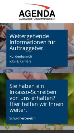 Agenda Inkassobüro Gmbh In Freilassing Deutschland Inkasso Agenda