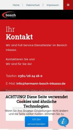 Hermann Bosch Inkasso Und Beratung In Erfurt Deutschland Inkasso