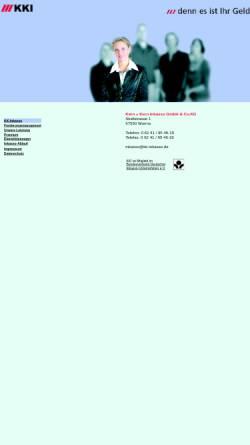Vorschau der mobilen Webseite www.kern-korte-inkasso.de, KKI Kern-Korte oHG