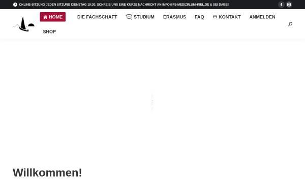 Vorschau von www.fs-medizin.uni-kiel.de, Fachschaft Medizin Universität Kiel