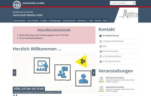 Vorschau von www.fsmed-koeln.de, Fachschaft Medizin Universität Köln