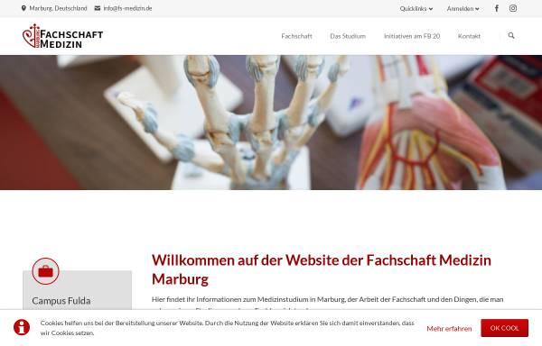 Vorschau von www.fs-medizin.de, Fachschaft Medizin Universität Marburg