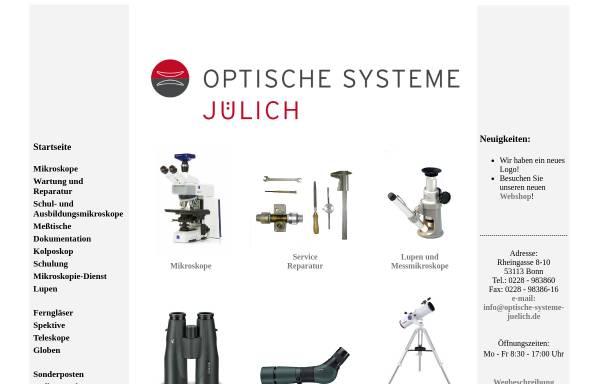 Optische und elektronische Geräte, Inh. Werner Jülich: Produkte und ...