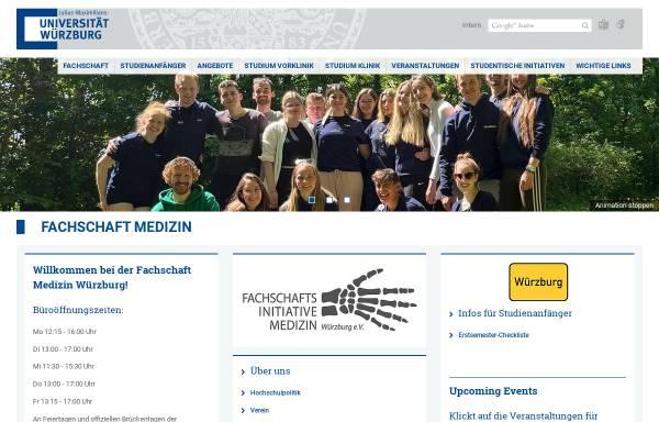 Vorschau von www.fachschaft.medizin.uni-wuerzburg.de, Fachschaft Medizin Universität Würzburg