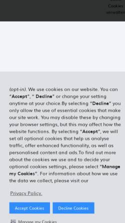 Vorschau der mobilen Webseite www.hertz.de, Hertz Autovermietung GmbH