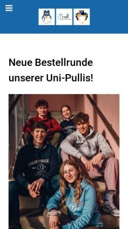 Vorschau der mobilen Webseite www.medizinhomburg.de, Medizin Homburg