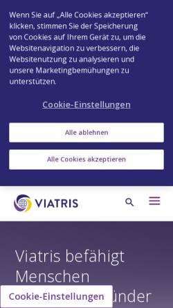 Vorschau der mobilen Webseite www.cholesterin.de, Cholesterin.de