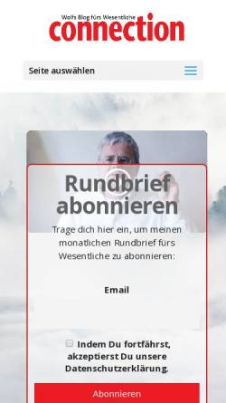 Vorschau der mobilen Webseite www.connection.de, Connection
