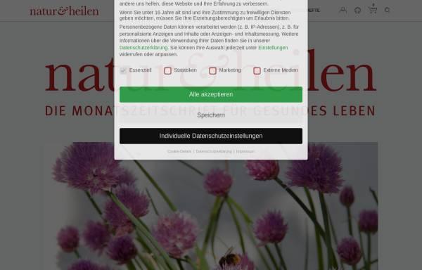 Vorschau von www.naturundheilen.de, NATUR & HEILEN