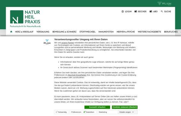 Vorschau von www.naturheilpraxis.de, Naturheilpraxis