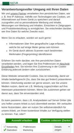 Vorschau der mobilen Webseite www.naturheilpraxis.de, Naturheilpraxis