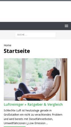 Vorschau der mobilen Webseite www.prismamagazin.de, Prisma