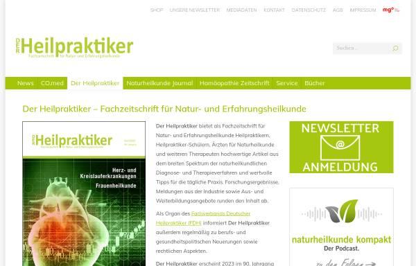 Vorschau von verlagvolksheilkunde.de, Volksheilkunde - Der Heilpraktiker