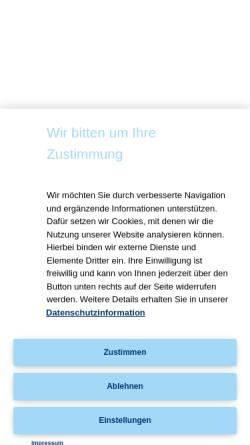 Vorschau der mobilen Webseite www.thieme.de, Medizinstudium [Georg Thieme Verlag]