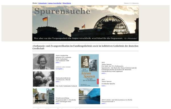 Vorschau von www.sigrid-falkenstein.de, Falkenstein, Sigrid