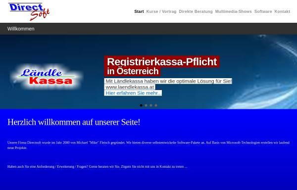 Vorschau von www.directsoft.at, Fleisch, Michael
