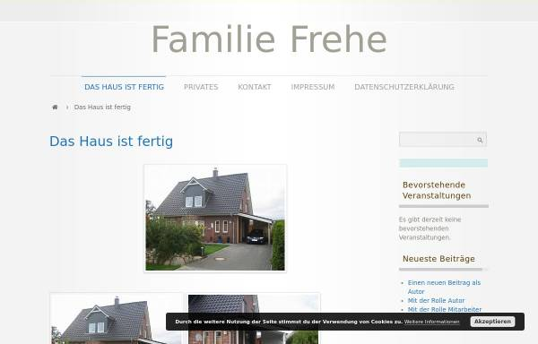 Vorschau von familie-frehe.de, Frehe, Familie
