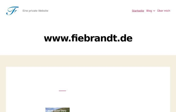 Vorschau von www.fiebrandt.de, Friebrandt, Alexander