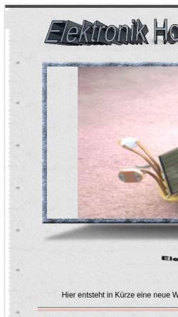 Vorschau der mobilen Webseite www.elektroweb.net, Elektronik - Homepage