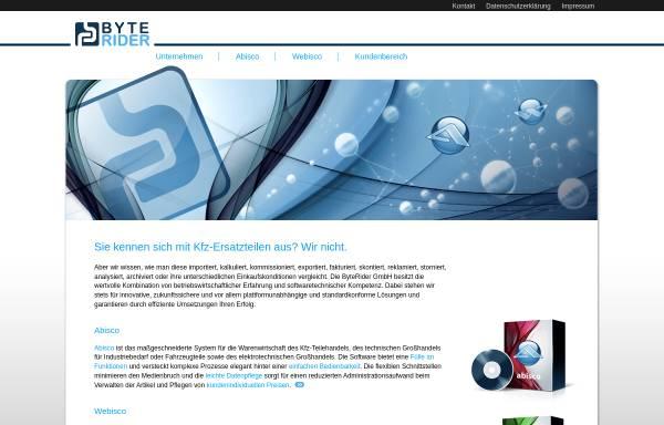 Vorschau von www.byterider.de, ByteRider GmbH