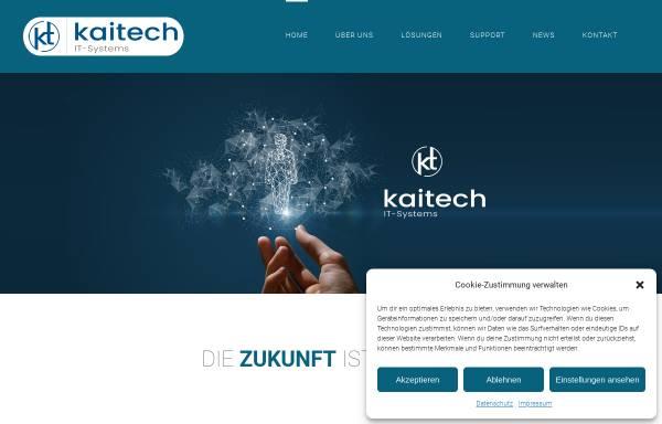 Vorschau von www.kaitech.de, KaiTech IT-Systems GmbH