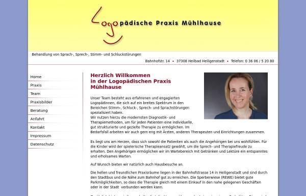 Vorschau von www.logo-hig.de, Logopädische Praxis Nicole Mühlhause