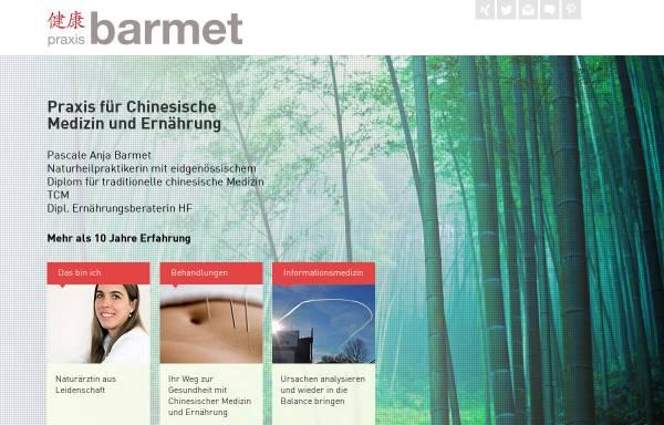Vorschau von www.praxis-barmet.ch, Praxis für Chinesische Medizin und Ernährung
