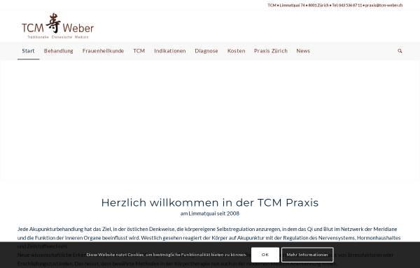 Vorschau von www.tcm-weber.ch, TCM Weber