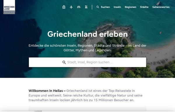 Vorschau von www.griechenland-infos.de, Griechenland-Informationen