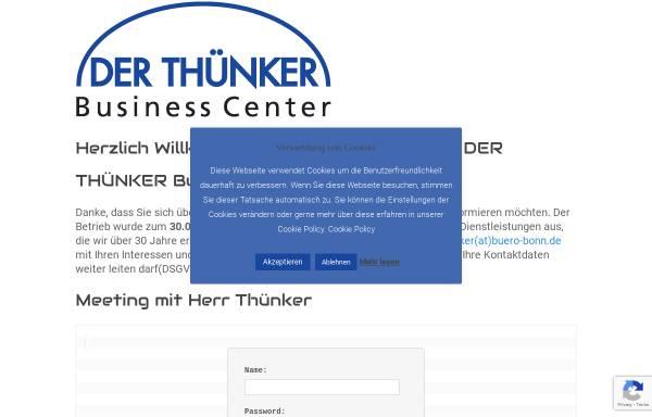 Vorschau von buero-bonn.de, Der Thünker Büro und Sekretariatsservice