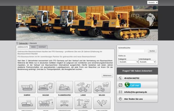 Vorschau von www.ito-germany.de, ITO International Trading Office GmbH