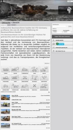 Vorschau der mobilen Webseite www.ito-germany.de, ITO International Trading Office GmbH