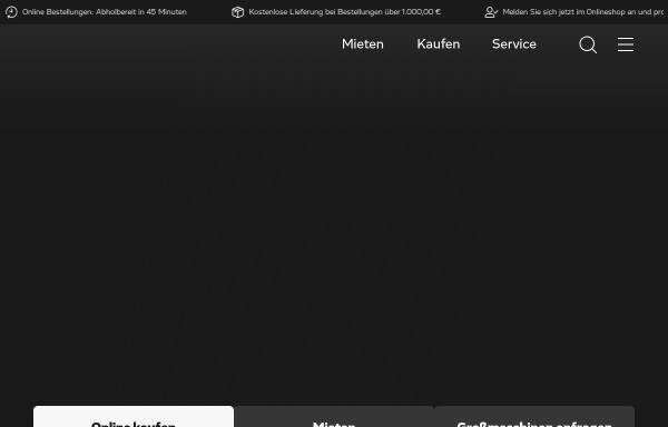 Vorschau von www.kurt-koenig.de, Kurt König Baumaschinen GmbH