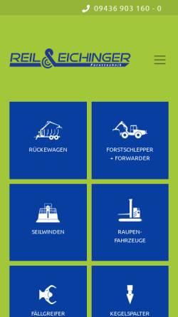 Vorschau der mobilen Webseite www.reil-eichinger.de, Reil & Eichinger GbR