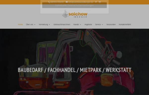 Vorschau von www.salchowundberger.de, Salchow & Berger Baubedarf GmbH