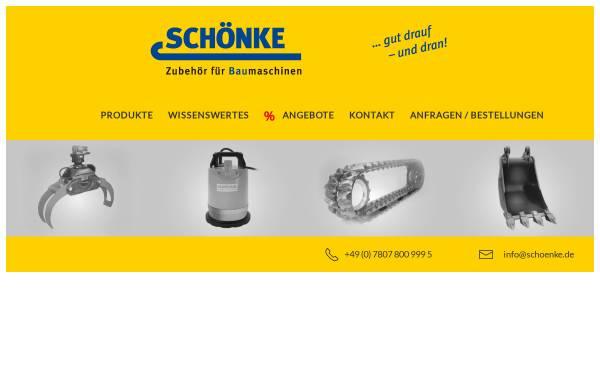 Vorschau von www.schoenke.de, Schönke