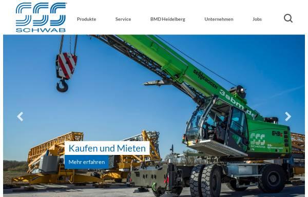 Vorschau von www.schwab-baumaschinen.de, Schwab Baumaschinen Baugeräte
