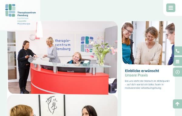 Vorschau von www.therapiezentrum-flensburg.de, Therapiezentrum Flensburg