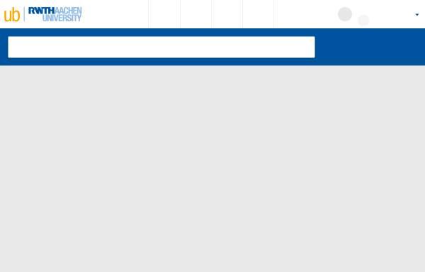 Vorschau von sylvester.bth.rwth-aachen.de, Medienspezifische Sprachperformanz