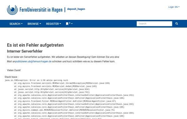 Vorschau von deposit.fernuni-hagen.de, Konzeption eines digitalen Videoeditiersystems