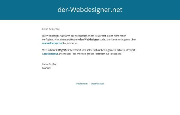 Vorschau von www.der-webdesigner.net, der-Webdesigner.net